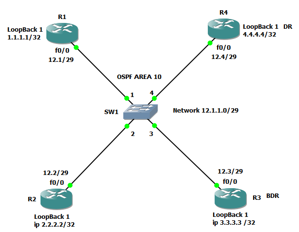 Please Explain The Concept Of Ospf Dr Bdr Election Practically