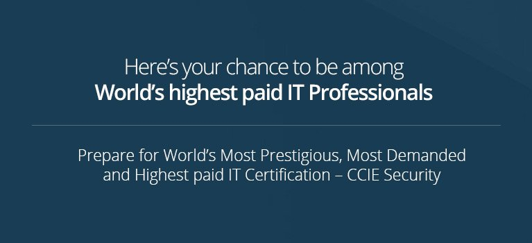 Best Institute for CCIE Security Certification Training in USA, UK ...