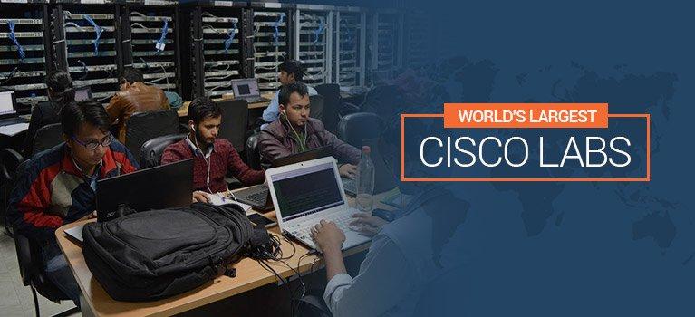 World's Largest Cisco Labs